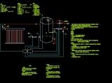 分离式太阳能原理节点详图