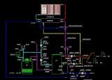 家用落地锅炉接太阳能详图