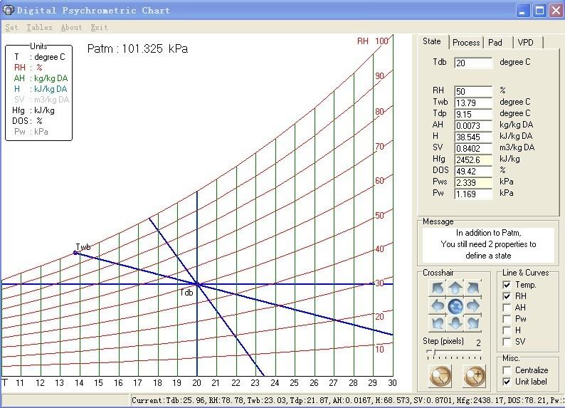 湿空气计算软件
